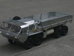 继上次美国m977制作图集更新,现发表模型车涉水视频以及图集