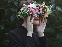 美人如诗,植物如织