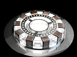3D建模 钢铁侠核心能量