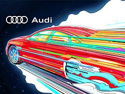 我绘我奥迪-Audi A7
