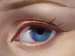 眼睛-鼻子-嘴的绘画方法