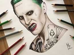 MZ彩铅手绘:Joker