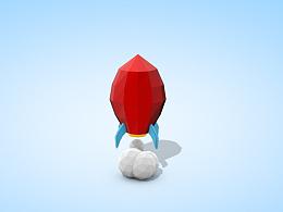 多边形小火箭练习