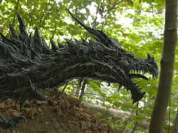 CG作品效果制作-west dragon