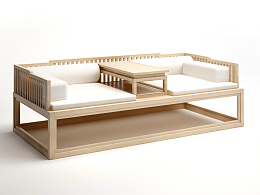 新中式 罗汉床