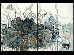 《夏荷秋雨图》。。。9.18纪念北方第一场秋雨