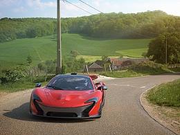 写实渲染练习McLaren P1 Volcano Red