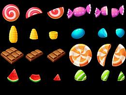 《切糖果》游戏元素——糖果
