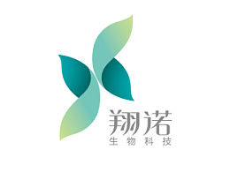 翔诺生物科技品牌设计—海浪平面