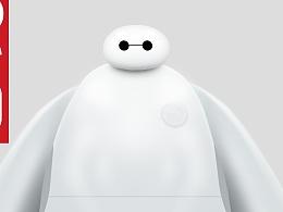 大白BIG HERO-临摹(灰昼大大)