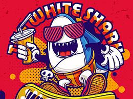The white shark·大白鲨