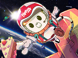 【Keeny】太空与蛋糕