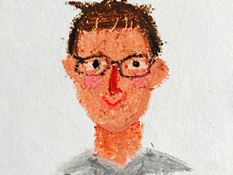 油画棒插画习作