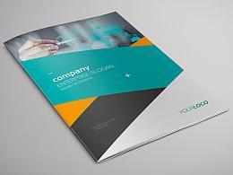 物联网 互联网 技术解决方案 产品画册 产品手册 青色画册 蓝色画册 大气画册 科技画册 云画册