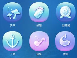水中爱丽丝手机主题icon