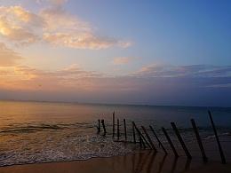 巽寮湾の黄昏
