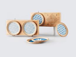 声声竹蓝牙音响 Bamboo BOX' Audio Speaker