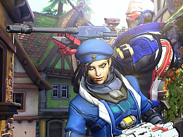 Ana X Soldier76 - Overwatch