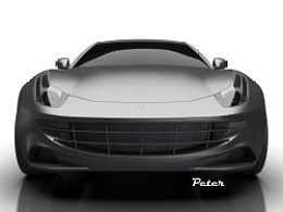 Ferrari FF body without makeup