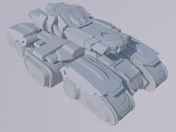 星际坦克-建模练习
