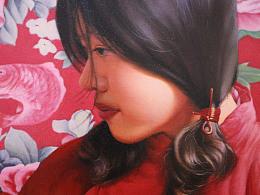 油画《待嫁》 50×60cm小幅