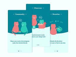 gato设计类app概念设计
