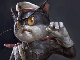 """末那原创丨老动画系列第3弹《黑猫警长》""""黑猫警长""""PVC手办"""
