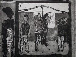 《城•人》系列铜版版画