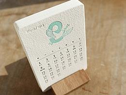 2015台历 -letterpress 活版印刷工艺