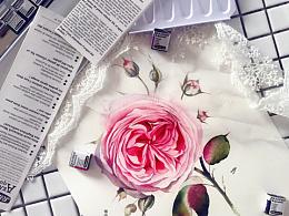 小花的水彩~蕾丝少女心~