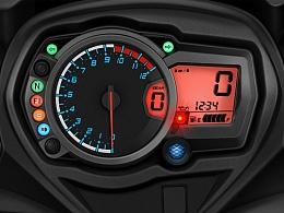 摩托车仪表临摹