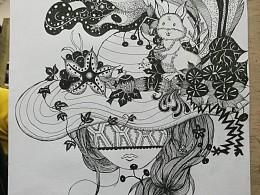 梦寐以求的插画师