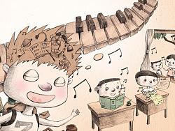 《噼里啪啦王国历险记》插图