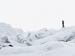 世界第三极-普诺岗日冰川