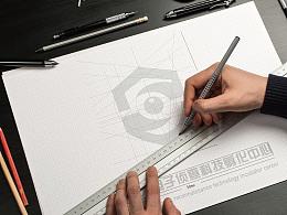 航天电子侦察科技公司logo设计