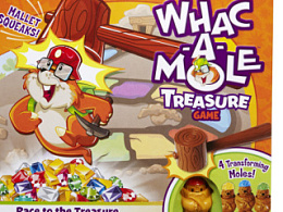 WHAC A MOEL—Treasure Race Game插画过程分享