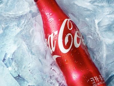 冰镇可乐创意拍摄