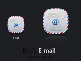 Eric's电子邮箱图标附制作过程