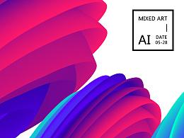 AI混合艺术效果[向7哥学习]