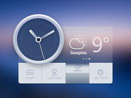 日历+天气+设置 图标临摹练习  附带psd