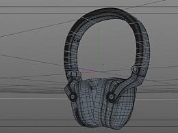 C4D耳机建模练习
