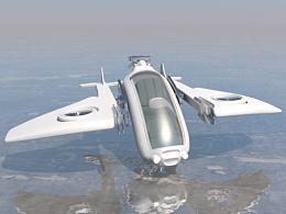 临摹习作:未来飞行器