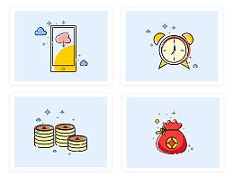 2016-龙贷小图标及页面模块设计