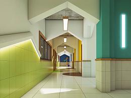武汉奥山世界城幼儿园设计