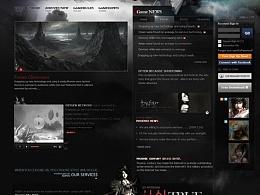 游戏官网设计