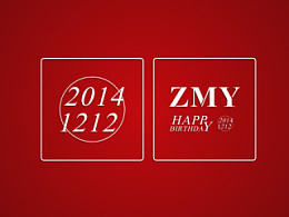 ZMY Happy birthday, 2014