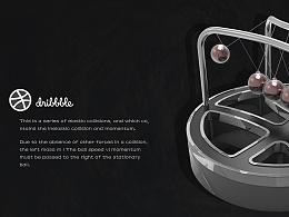 dribbble-3D