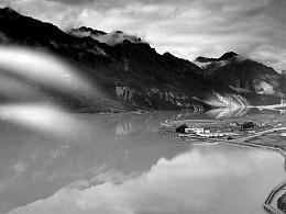 西藏大画幅全景黑白胶片