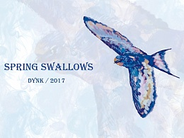 春燕/Spring swallows