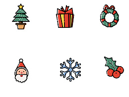 【Merry Christmas】圣诞节icon